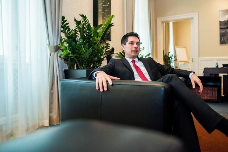 Balog Ádám, az MKB elnök-vezérigazgatója