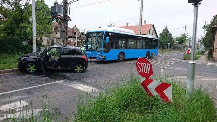 A baleset helyszíne