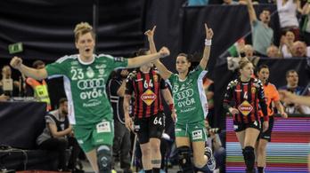 Őrült izgalmak: hosszabbításban BL-győztes a Győr