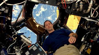 Az űrállomásról szavazott a francia űrhajós