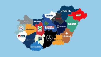 Hol dolgozik a magyar?