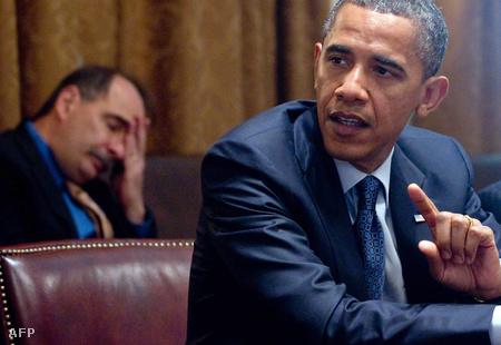 David Axelrod és Barack Obama