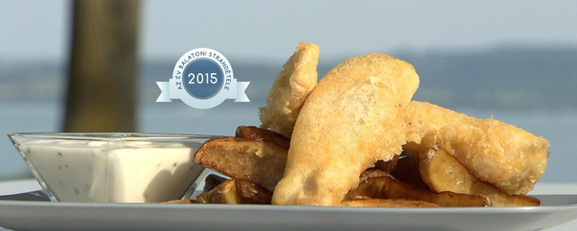 A balatoni fish&chips fődíjat ért