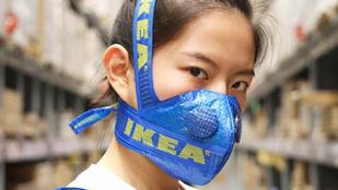 Őrület: a kék Ikea zsák a szezon slárere
