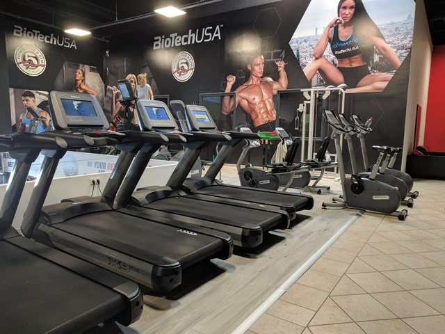 Fitness 5 Pólus: sok futópad