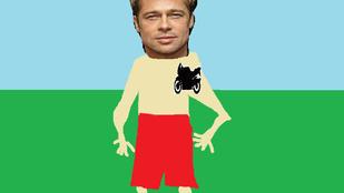 Életközépi válság a csúcson: Brad Pitt motort tetováltatott magára