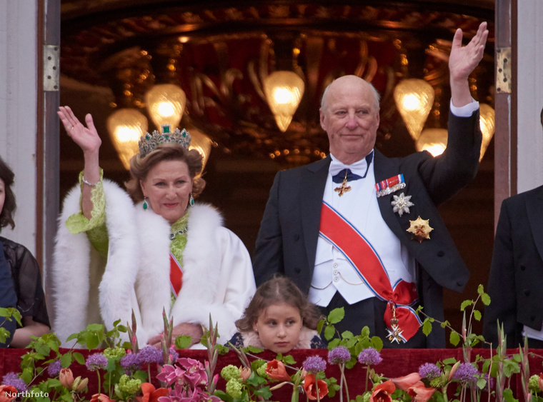 A norvég királyi pár, Szonja királyné és Harald király idén ünnepli 80