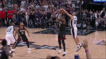 A Spurs 39 évese megcsinálta az év mentését
