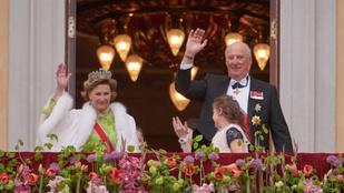 Kétnapos fesztivállal ünnepelték a norvég királyi pár szülinapját