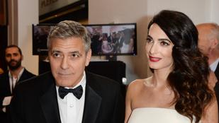 George és Amal Clooney már a rossz karma ellen is levédte az ikreket
