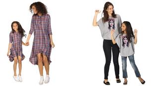 Menő vagy ciki egyformába öltözni a lányoddal?