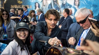 Kína láthatja először a fiatalra varázsolt Johnny Deppet
