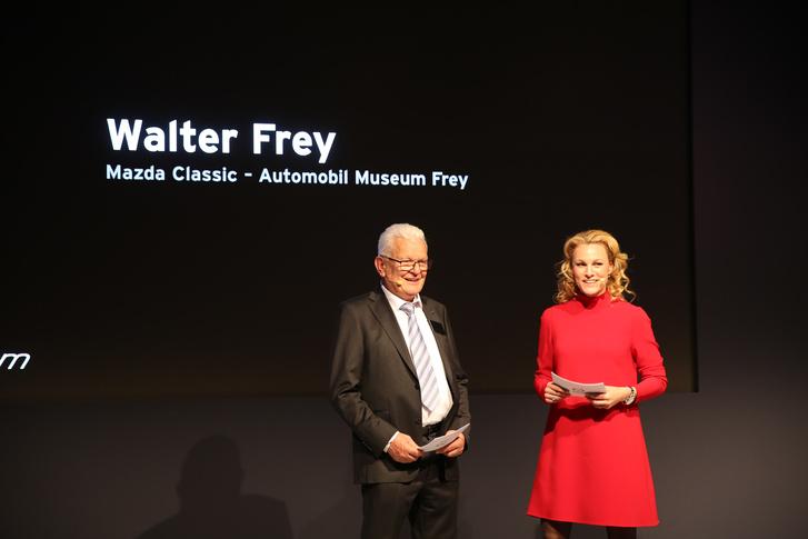 Walter Frey úr, a múzeum alapítója