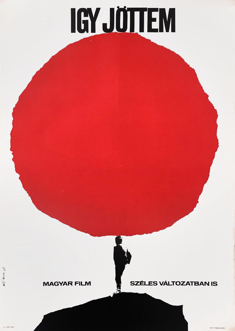 Jancsó Miklós 1965-ben bemutatott filmjéhez Máté András, a korszak egyik legkiemelkedőbb tervezőgrafikusa készített plakátot. Bár rengeteg technikát alkalmazott: égetett fotó, vonalrajz, fotómontázs, kollázs, tipográfia és kalligráfia, festői megoldások, ennek ellenére a Máté plakátok azonnal felismerhetőek stílusjegyei miatt. Az ő nevéhez köthető a híres Malév-sorozat, hét plakát, amelyet az egykori magyar légitársaságnak készített.