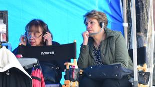 Jennifer Lopez és Alex Rodriguez anyukái együtt bandázgattak egy forgatáson