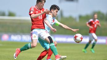 Öngóllal verték a törökök az U17-eseket az Eb-negyeddöntőben