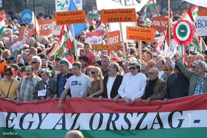 A CÖF által szervezett békemenet 2014-ben
