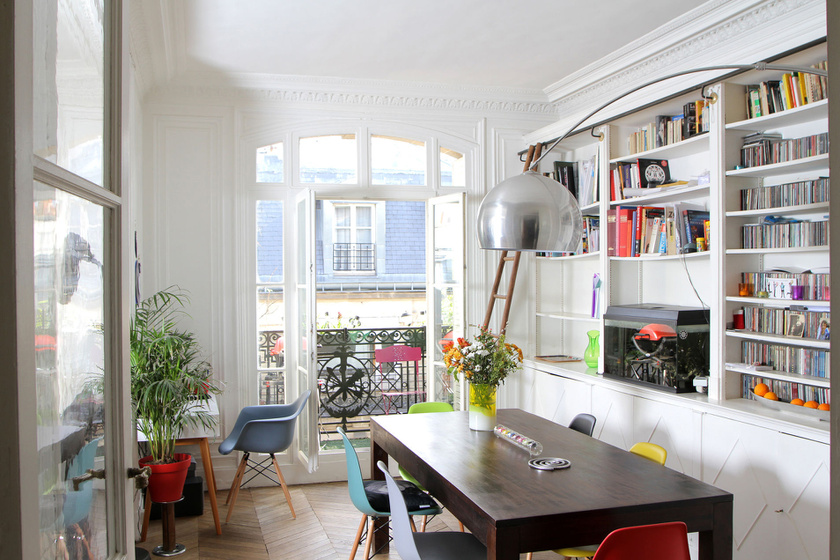 Ez a 160 négyzetméteres, bűbájos lakás Párizsban található, lakói pedig idén júliusra, augusztusra keresnek cserepartnert. Fotó: Home Exchange