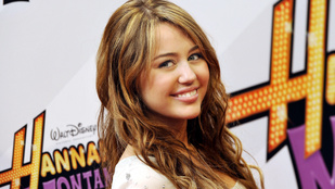 Miley Cyrus teljesen meghatódott a Hannah Montana-castingvideójától