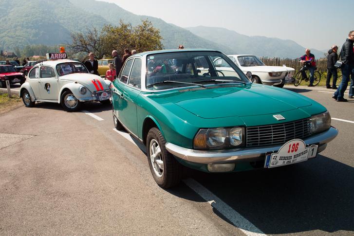 Egy igazán gyönyörű Audi-termék. Csak ezt épp NSU Ro80-nak hívták