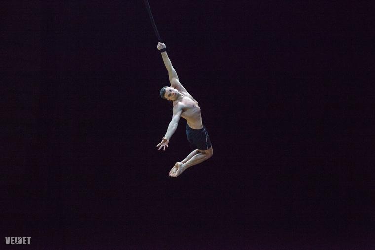 Egyszerre izommunka és művészet, ahogy repülnek a színpad felett.