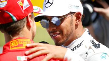 Hamilton-Vettel első sor Barcelonában