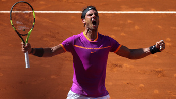 Nadal nyerte az 50. meccset a leghosszabb teniszháborúban