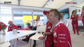 Minden idők legkedvesebb F1-es pillanata