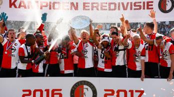 A 36 éves zseni 18 év után mesterhármassal tette bajnokká a Feyenoordot