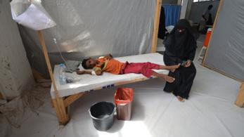 Kolerajárvány tombol Jemenben, szükségállapotot hirdettek ki