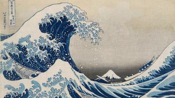 Túl a nagy hullámon - Hokuszai kiállítás