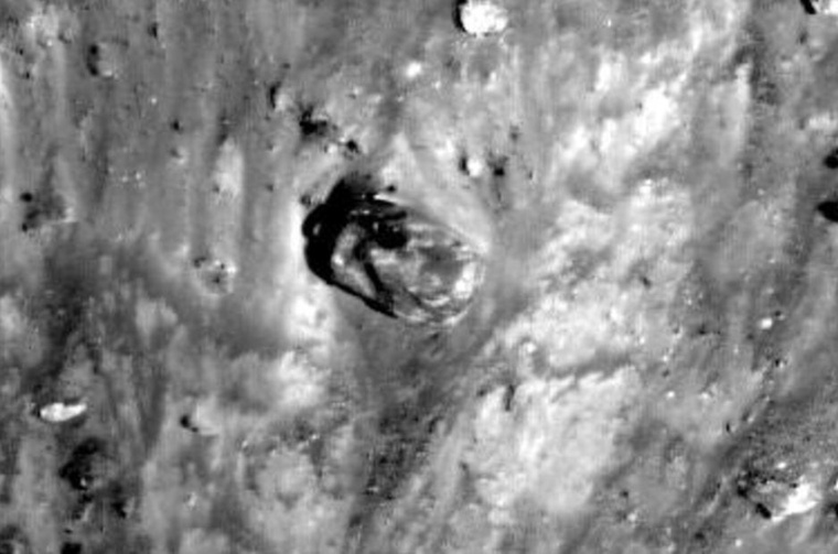 A fotó az 1971-es Apollo-15 misszió során készült