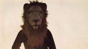 Retroreklám: Öltözz szomorú oroszlánnak!