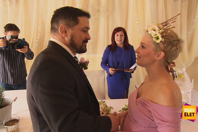 Bárdosi Sanyi titkos esküvőn vette el újra Ildit, csak az Édes Élet kamerái lehettek jelen.