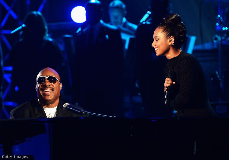 Stevie Wonder viszont sokszor fellépett a Billboard-esteken