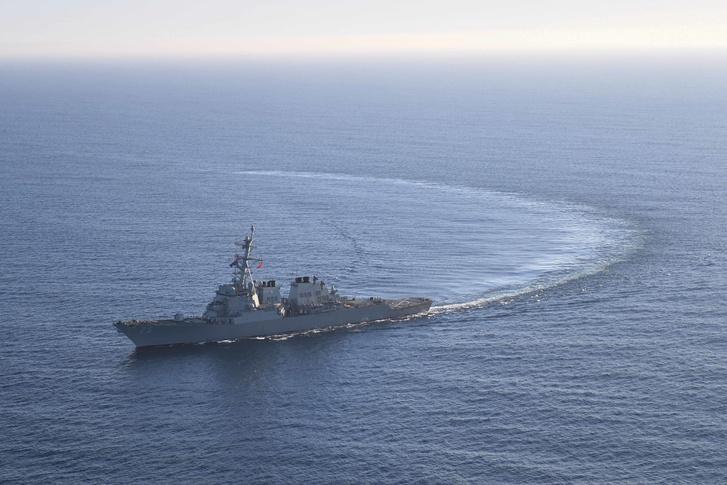 A USS Donald Cook