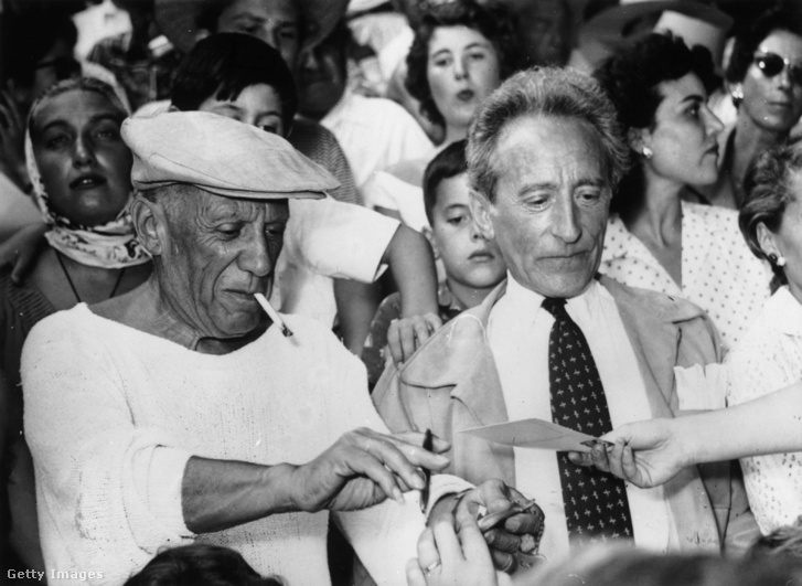 Pablo Picasso és Jean Cocteau