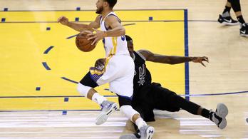 Curryék kicsinálták a Spurst: 136 pont