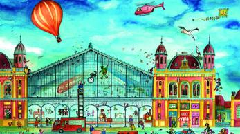 Így nézne ki Budapest, ha egy gyerekkönyvben találták volna ki