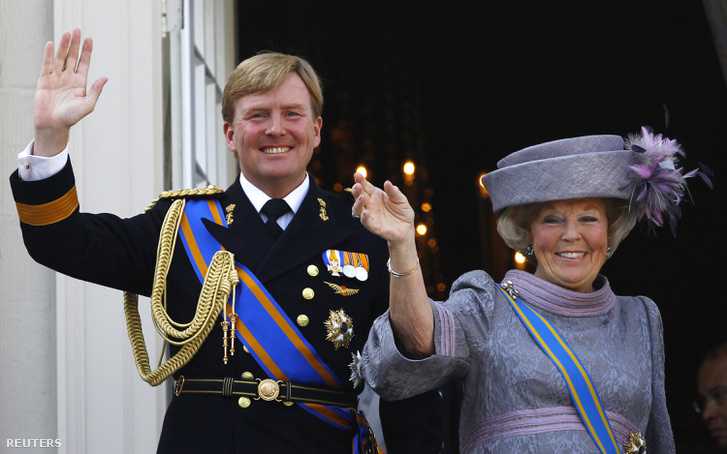 Vilmos Sándor és Beatrix