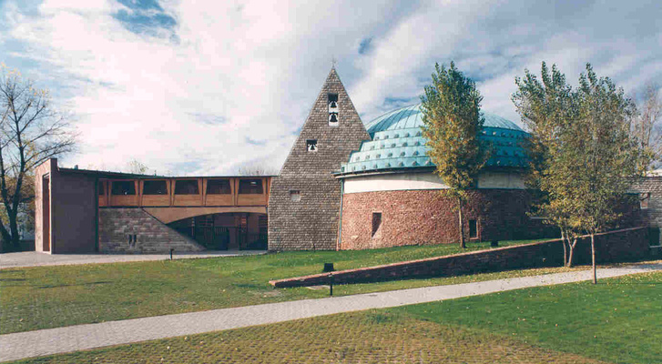 Magyar Szentek temploma (1996.), Török Ferenc tervei alapján