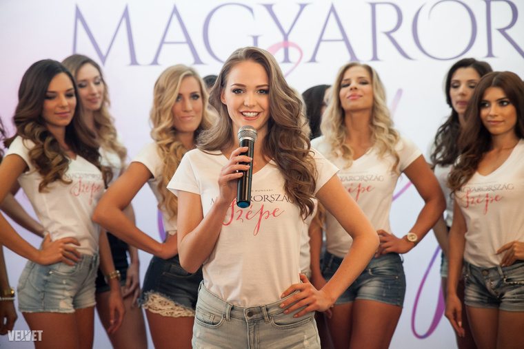 Koroknyai Virág 12 évesen még Little Miss Europe volt, mostanra azonban magasabbra kíván törni, nem véletlenül lehet most itt a húsz lány között