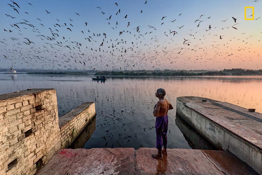 Bár a Jamuna folyó Delhi legszennyezettebb folyója, a Gangesz után a második legszentebbnek tartják az indiaiak, amiben kiváltságos érzés megfürödni.