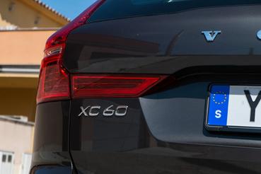 Van vízszintes része is a hátsó lámpának, ezzel még éjjel is megkülönböztethető az XC90-től