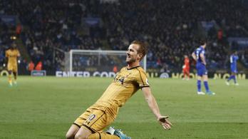 Kane négy góllal KO-zta a Leicestert
