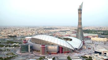 Elkészült a katari luxus-vb első stadionja
