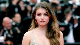 Az ál-Palvin Barbara már megérkezett Cannes-ba és nagyon megijedt