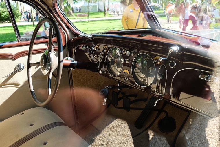 Szlovákiai restaurálás eredeménye a legapróbb részletében is magas színvonalú felújítás a Chryslernél