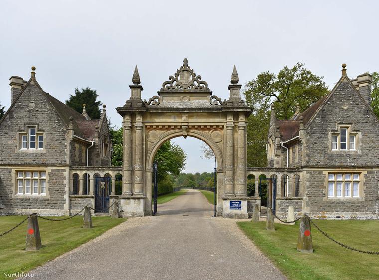 Az englefieldi birtok, ahol a templomi esküvőt tartják május 20-án.