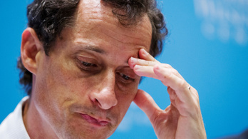 Bevallotta bűnösségét Anthony Weiner